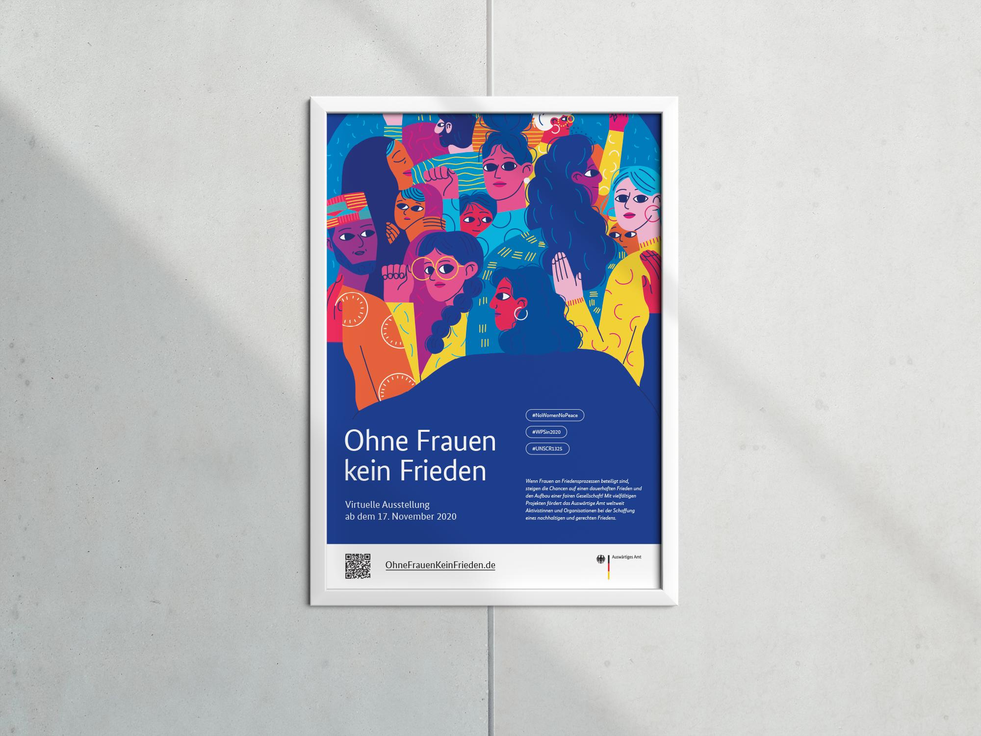 OhneFrauenKeinFrieden-Poster